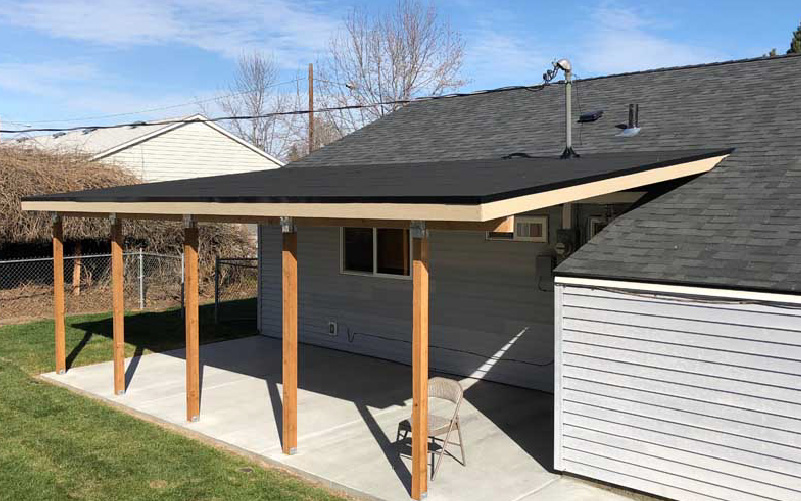 patio cover installation